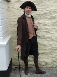 Ian in costume
